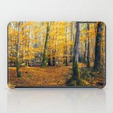 Yellow Trees iPad Case