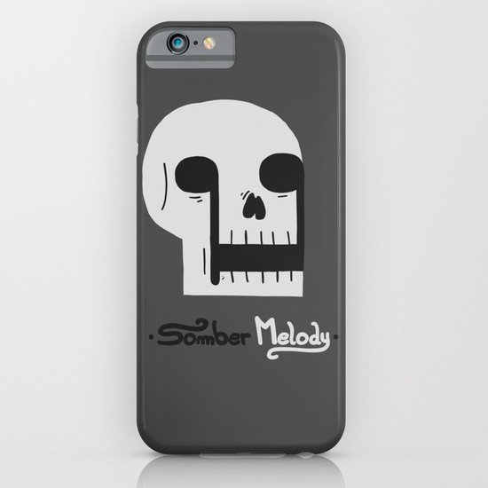 Somber Melody iPhone & iPod Case
