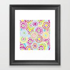 Mmmm Candy! Framed Art Print
