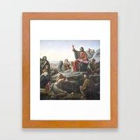 Hover Lord Framed Art Print