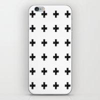 Watercolor Swiss Cross (… iPhone & iPod Skin