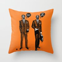 HALLOWEEN ZOMBIES Throw Pillow