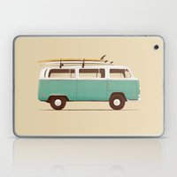 Blue Van Laptop & iPad Skin