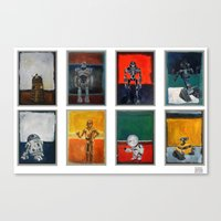 Rothbots (2) Canvas Print