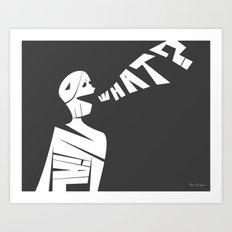 Denial Art Print