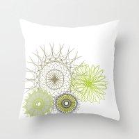 Modern Spiro Art #4 Throw Pillow