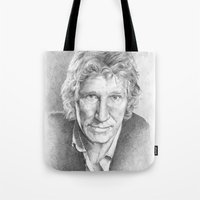 Roger Waters Of Pink Flo… Tote Bag