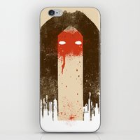 The Silence (Native Woman) iPhone & iPod Skin