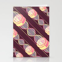 power time gravity love pattern Stationery Cards