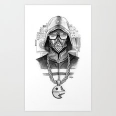 Def Vader Art Print