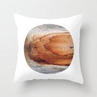 Planetary Bodies - Rust … Throw Pillow