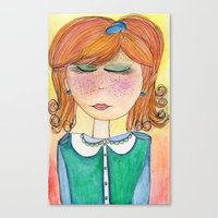 Red-Headed Pixie Canvas Print