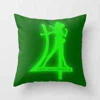 Sailor Jupiter Throw Pillow