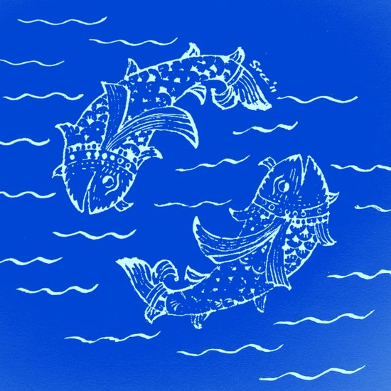 Happy fish- 1 Canvas Print