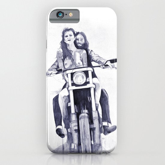 Biker Babes iPhone & iPod Case