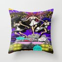 """This is the """"Code Name: King #2"""" Comic Book Page Art Throw Pillow"""