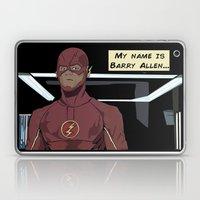 My name is Barry Allen Laptop & iPad Skin