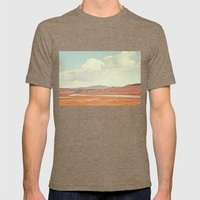Summer Landscape Mens Fitted Tee Tri-Coffee SMALL