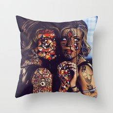 Psychoactive Bear 2 Throw Pillow