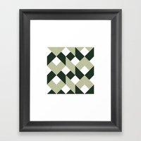 #213 Politics – Geomet… Framed Art Print