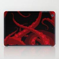 Subterranean Red iPad Case