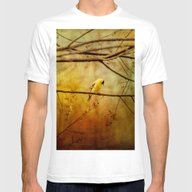 T-shirt featuring Yellow Songbird In Morni… by Ginkelmier
