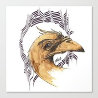 SAINT BIRD OF PARADISE  Canvas Print