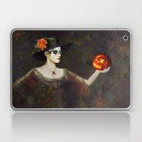 Lady Of The Pumpkins - H… Laptop & iPad Skin