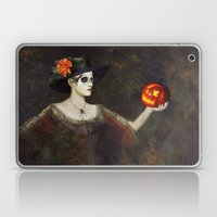 Lady Of The Pumpkins - H… Laptop & iPad Skin
