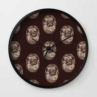Fingerpug Wall Clock
