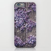 Lilac world map iPhone 6 Slim Case