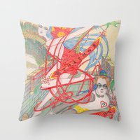 The Legendary Panda Brot… Throw Pillow