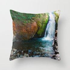 Bridal Veil Falls OR Throw Pillow