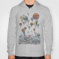 Voyages over Edinburgh Hoody