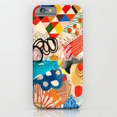 Wallpaper and Diamonds Part I iPhone 6s Slim Case