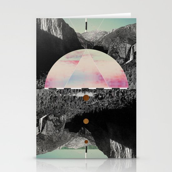 Candy Floss Skies Stationery Card