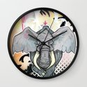 Stampede Part 1 Wall Clock