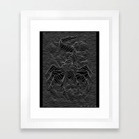 Unknown Hugger Framed Art Print