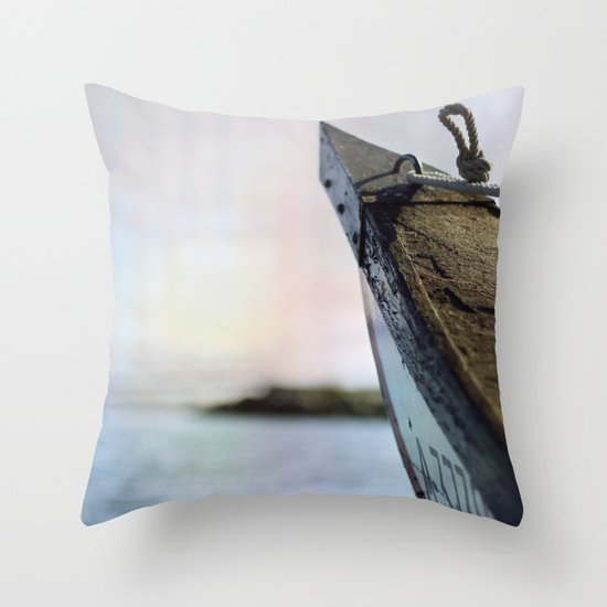 Relieve Throw Pillow