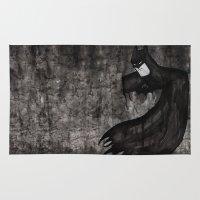 Black Bat Rug