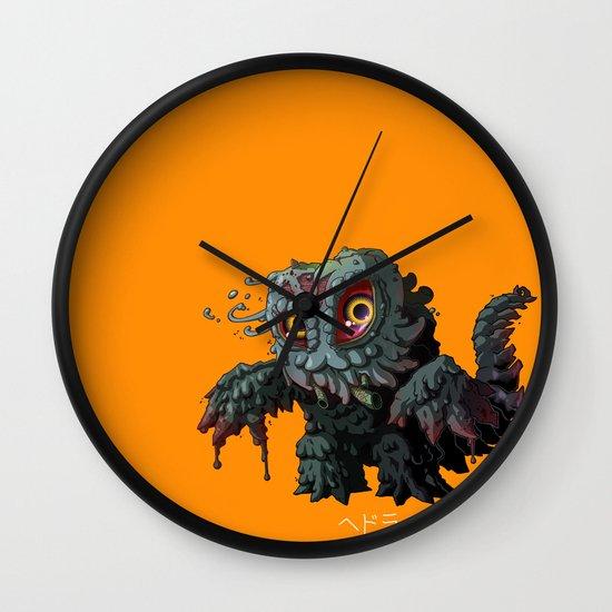 Hedorah Wall Clock