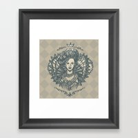 Long Live the Queen Framed Art Print