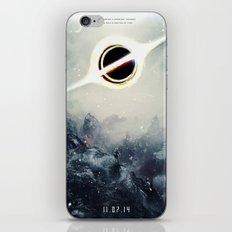 Interstellar Inspired Fictional Sci-Fi Teaser Movie Poster iPhone & iPod Skin