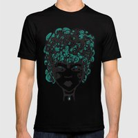 Annabella Mens Fitted Tee Black SMALL