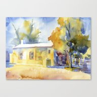 Hillsboro General Store Canvas Print