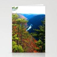 Pennsylvania Grand Canyo… Stationery Cards