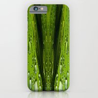 Floral Reflections In Wa… iPhone 6 Slim Case