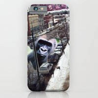 iPhone & iPod Case featuring Potsdam Gorilla by Sara E. Lynch