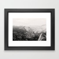 Yosemite Beauty (b&w)  Framed Art Print