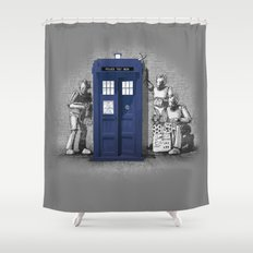 BankCy Shower Curtain